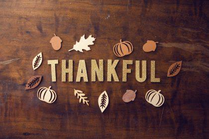 A Thanksgiving Meditation